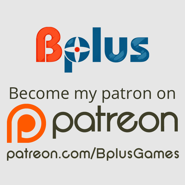 Support Bplus now on Patreon.com